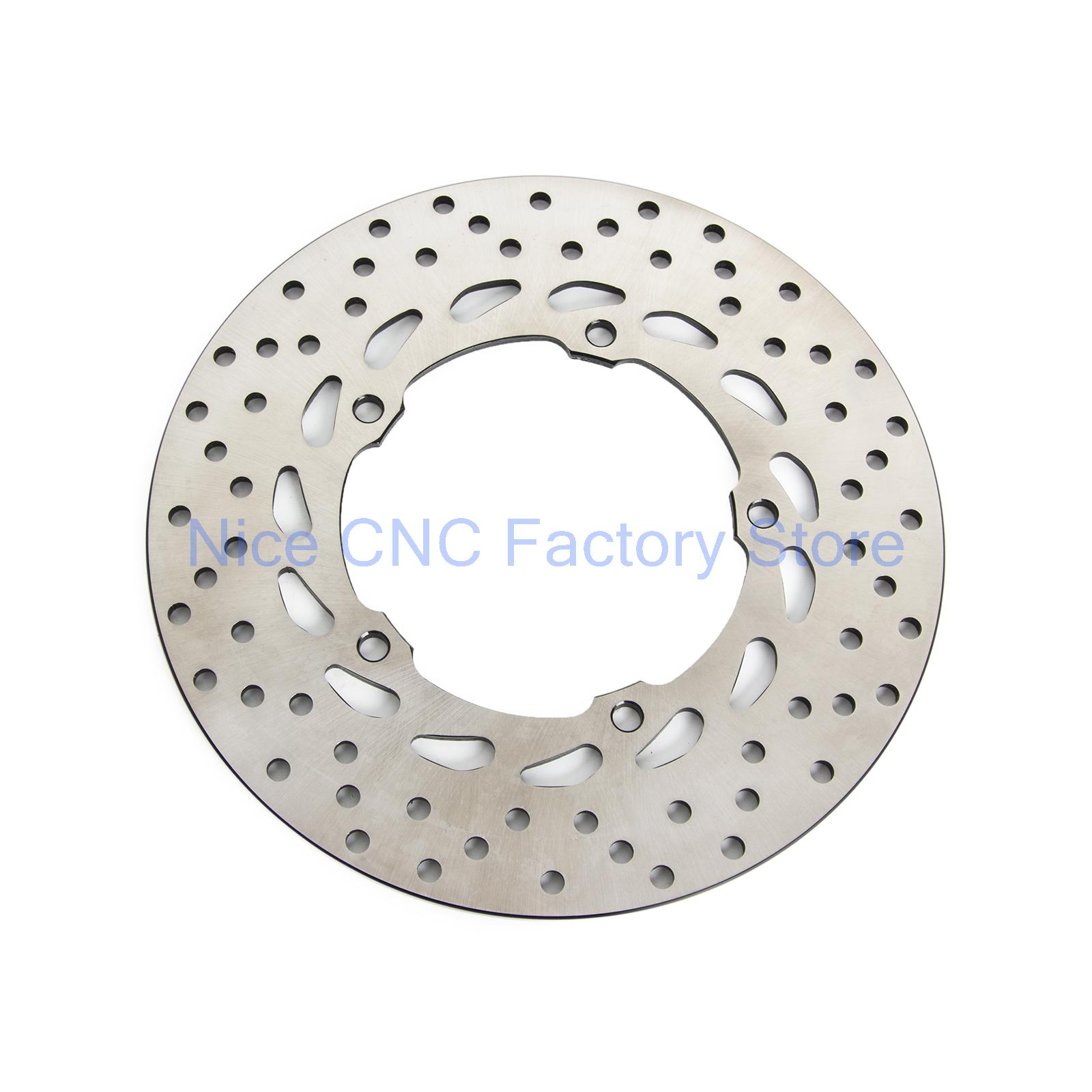 Motorcycle Rear Brake Disc Rotor For Yamaha XJ6-N XJ6N Diversion 600 09-15 XJ6-F XJ6F 10-15 XJ6-S XJ6S 10-15 XJ6-SP XJ6SP 2013 keoghs real adelin 260mm floating brake disc high quality for yamaha scooter cygnus modify