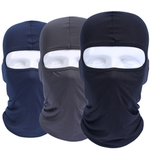 Balaclava Breathable Windproof Tactical Military Army Airsoft Snowboard Bicycle Helmet Liner Hats UV Protection Full Face Mask(China)