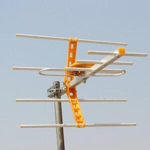 Image 5 - HD رقمي هوائي تلفاز خارجي ل DVBT2 HDTV ISDBT ATSC مكاسب عالية إشارة قوية هوائي تلفاز خارجي