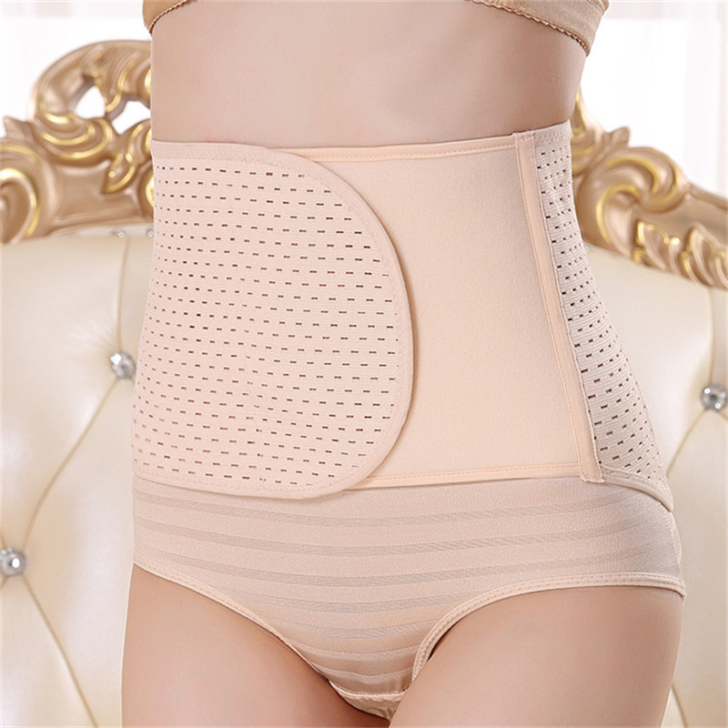 Postpartum Body Shapers Women Trainer Corset Abdomen Belt Non-slip Puerperal Seamless ShapeWear Waist Cincher Free Shipping Sale