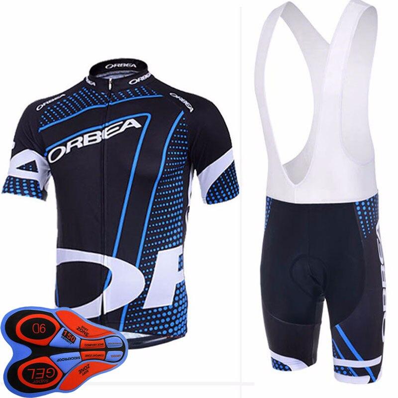 Цена за 2017 Новый! Pro 100% Полиэстер Дышащий Orbea Велосипедные майки Задействуя Одежда/Быстрый Сухой Ропа Ciclismo Велосипед Майки Велоспорт