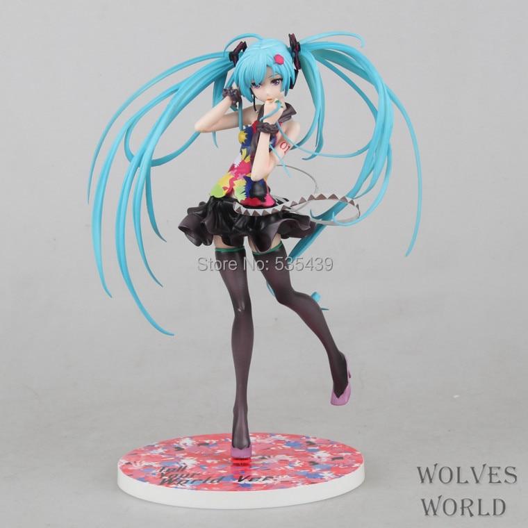 hot ! NEW 1PCS 21cm Hatsune Miku Tell your world Ver 1/8 figure toys Christmas toyhot ! NEW 1PCS 21cm Hatsune Miku Tell your world Ver 1/8 figure toys Christmas toy