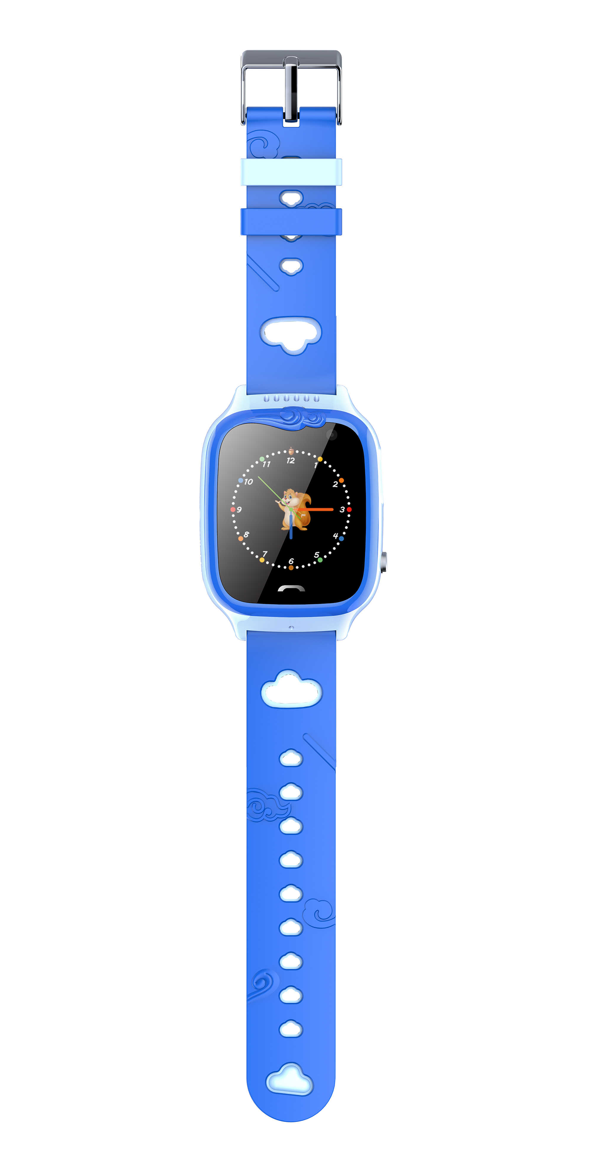 2018 Baru IP67 Tahan Air Smart Aman Akurat Lokasi Tracker SOS Panggilan Remote Monitor Flashlight Watch Jam Tangan untuk Anak-anak Anak