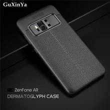 GuXinYa Case Zenfone AR ZS571KL Cover Luxury Leather ShockProof TPU Protective Case For Asus Zenfone AR ZS571KL Funda ZS571KL ibanez ar c case