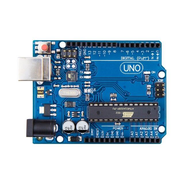 100 pièces UNO R3 MEGA328P ATMEGA16U2 pour Arduino sans câble livraison gratuite