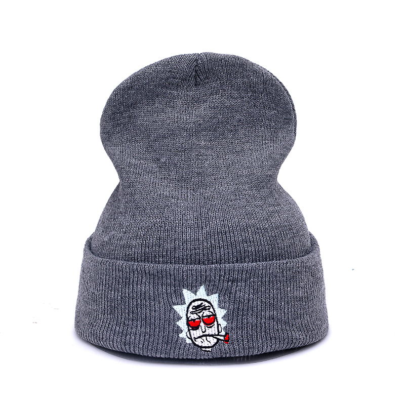 7e89fb823d057 High Quality Rick and Morty Hats The New US Animation Cot Winter Hat For Men  And Women Beanies Skullies Female Warm Hat
