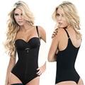 Mujeres full body corsés adelgaza fajas body shapers caliente modelos de correa de látex cintura butt lifter bragas fajas vaina