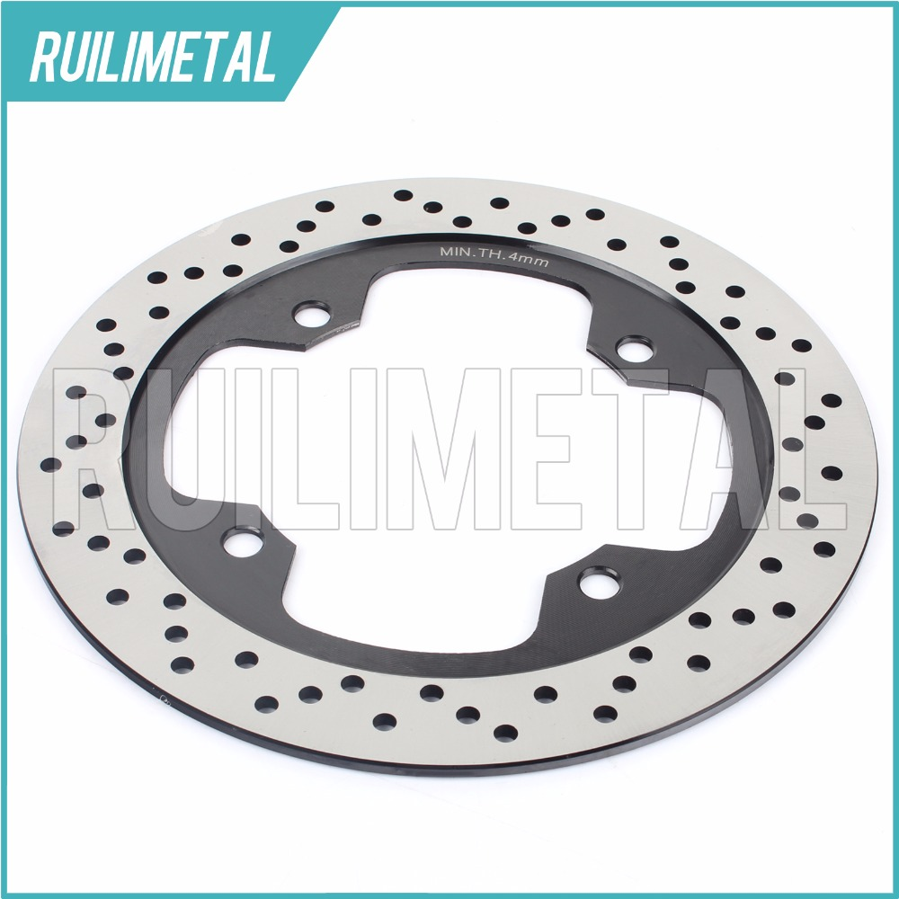 Rear Brake Disc Rotor for CBF 1000 T ABS CBF 500 ABS CBF 600 N ABS CBF 600 S ABS 2008 2009 2010 2011 2012 08 09 10 11 12 xp t max 500 01 11 motorcycle rear brake rotor disc for yamaha tmax500 xp500 2001 2011 xp t max 500 abs 2008 2009 2010 2011