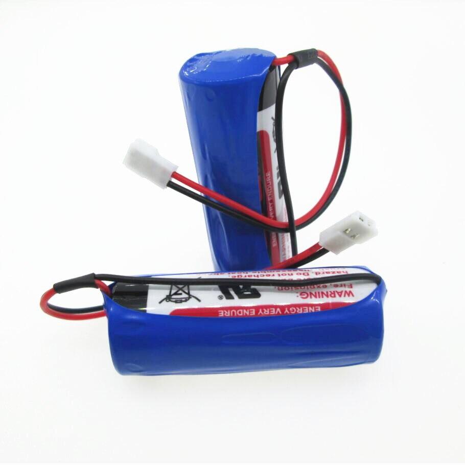 NIEUWE batterij ER18505 18505 lithium batterij 3.6 v 4000 mah PLC controle Li Ion batterijen 5 stks/partij-in Primaire en Droge Batterijen van Consumentenelektronica op  Groep 1