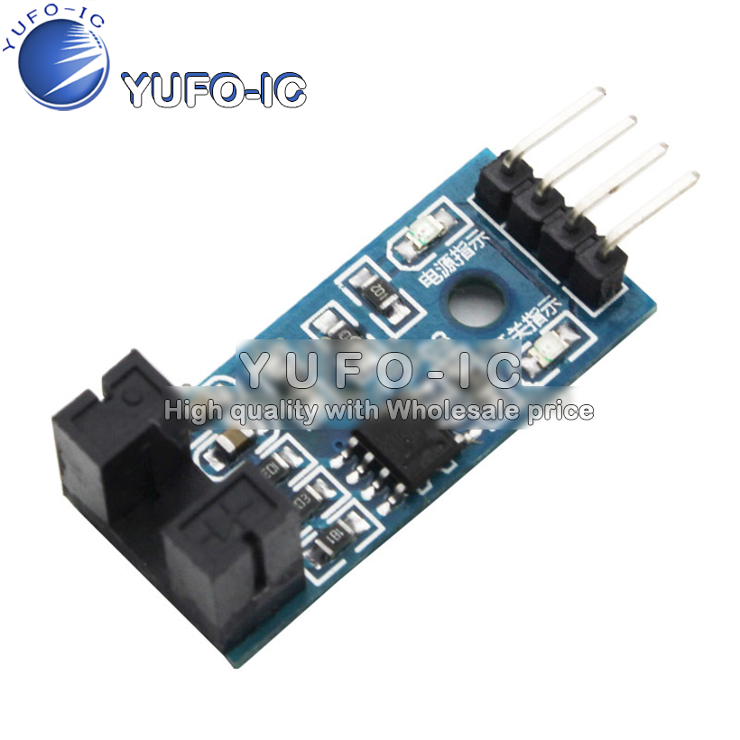 Speed measuring sensor module counter module motor test module slot type optical coupling module