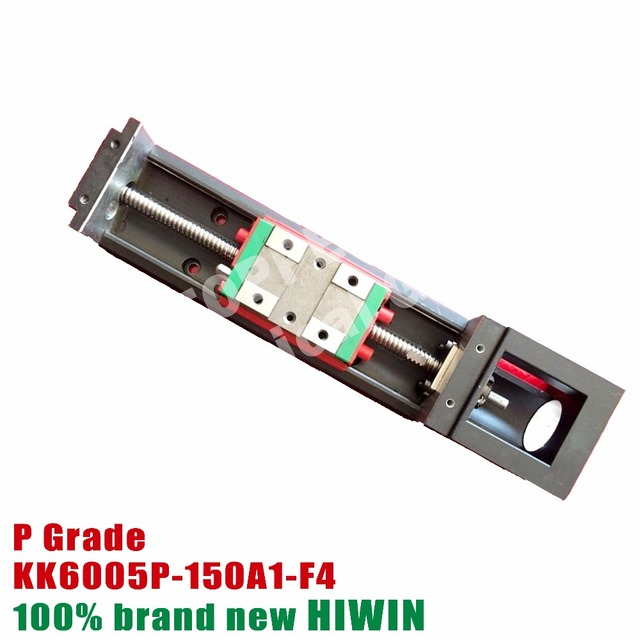 hiwin module 150mm kk6005 p precision linear motion stage guide rail