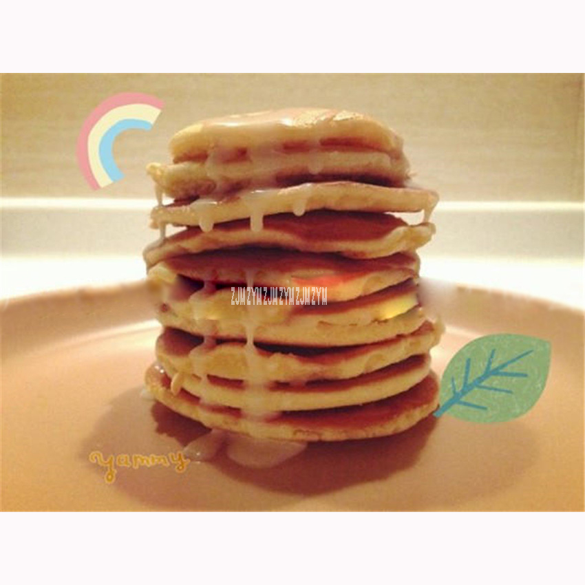 1PC NP-696 Commercial Use 100 holes Gas Pancake Maker Non-stick Mini Waffle Baker Machine Stainless steel ,Waffle Size45*45*10mm 7