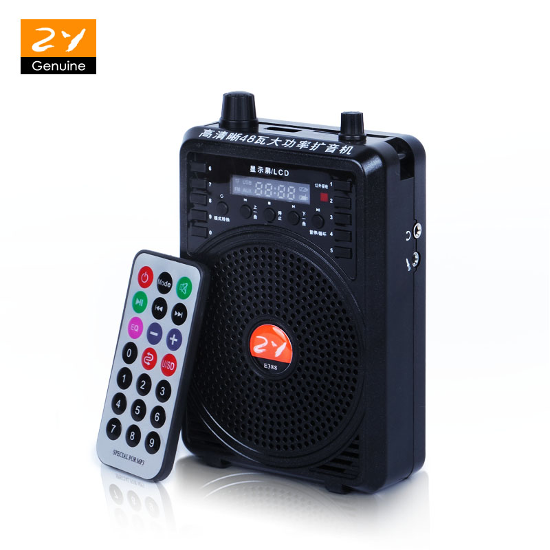 48w Waistband Special Audio Amplifier Teaching Microphone For Tours Guide External Voice Loud Speaker Support U Disk/tf Card Easy To Lubricate