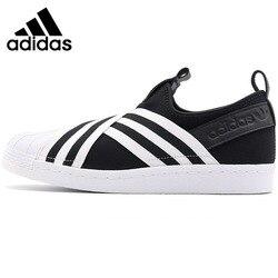 Original New Arrival 2018 Adidas Originals SUPERSTAR SLIPON W Women's Skateboarding Shoes Sneakers