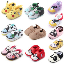 Фотография Soft Bottom Baby Shoes Fashion New Autumn And Winter Baby Shoes Boy Girl First Walkers 0-18m Shoes For Newborn First Walkers