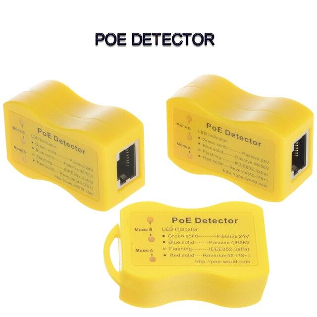 Alimentation passive 24v 48v, moins chère et plus rapide, méthode de détection PoE Ethernet, tension iee802.3af IEEE802.3at