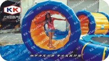 Inflatable Roller /Moving Inflatable Roller/Water Park Game
