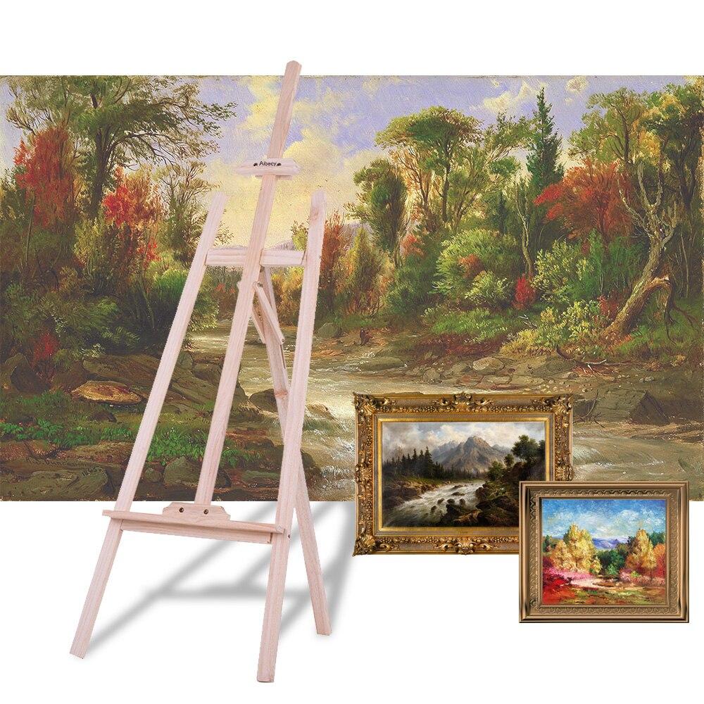 59 Pouce Art Artiste Bois En Bois Chevalet Croquis Dessin Stand NZ Pin pour Peinture Croquis Exposition D'affichage Jouets pour Enfant