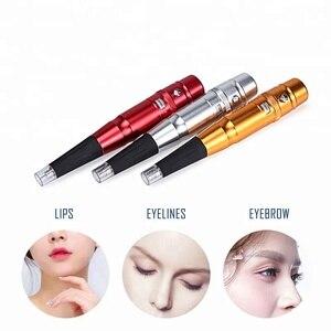 Image 5 - Подводка для бровей и губ, тату карандаш, Перманентный макияж, машина для макияжа бровей и губ, тату машина, моторная ручка, пистолет