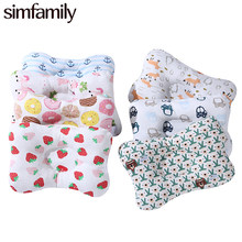 [simfamily] Baby Pillow Newborn Sleep Positioner Support Pillow Infant Head Protection Cushion Baby Bedding Prevent Flat Head(China)