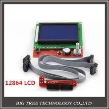 Bigtreetech RAMPS1.4 ЖК-12864 ЖК-панель управления для 3D принтер смарт-контроллер Бесплатная доставка
