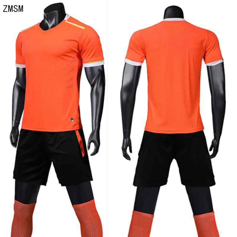 ZMSM Adult Breathable Soccer Jerseys Sets survetement football 2019  Sportswear Soccer training suit football Uniform LB1904 1133e7b1e
