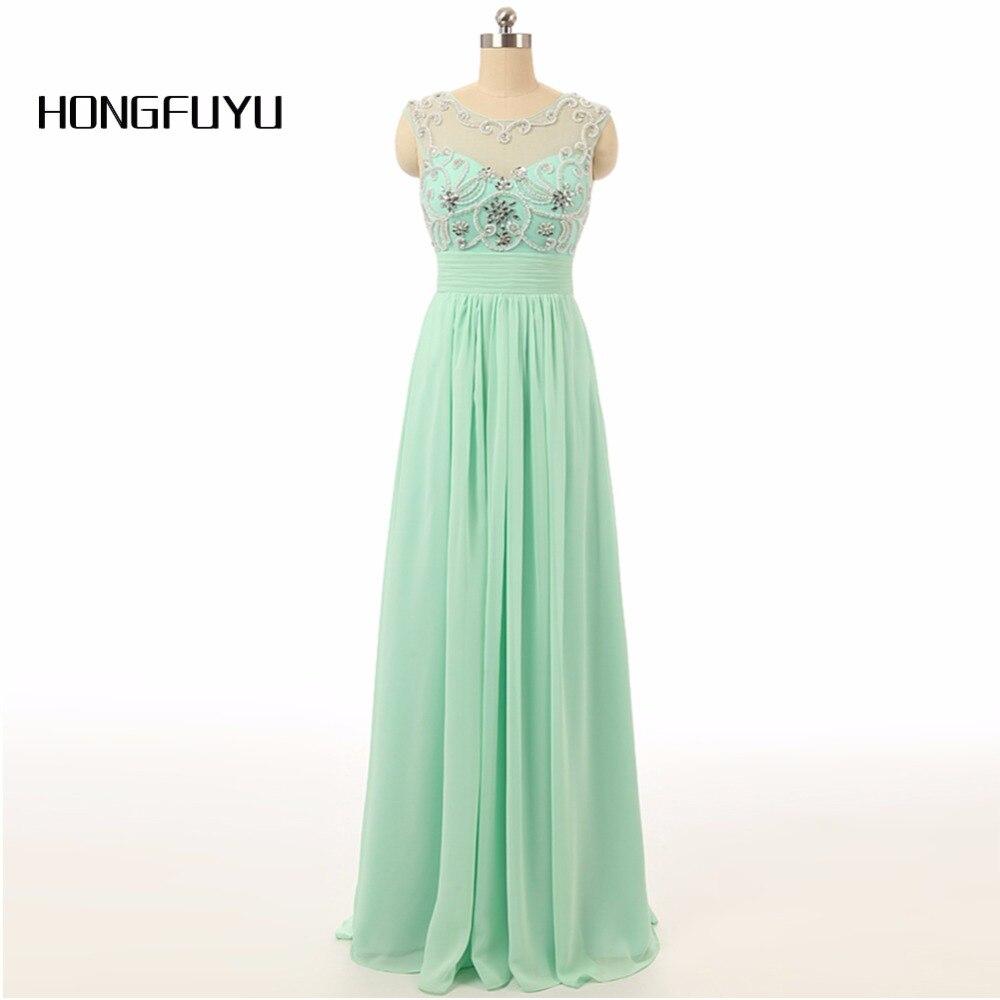 Emerald Green Prom Dresses 2018 Scoop Sleeveless A Line Floor Length