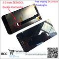 Для Asus Zenfone 2 ZE500CL Пряжка Разъем 5 дюймов Полный Новый ЖК-Дисплей Панель С Сенсорным Экраном Digitizer Стекло Ассамблеи Бесплатная Доставка