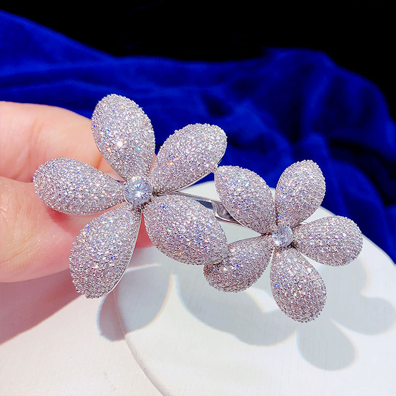 High quality flowers long strips ladies hairpin girl hair accessories headdress UFO clip