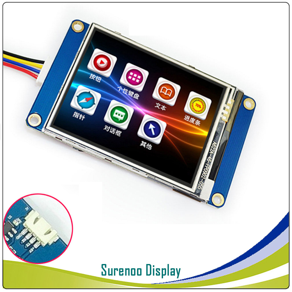 """Image 3 - 2.4"""" NX3224T024 Nextion Basic HMI Smart USART UART Serial Resistive Touch TFT LCD Module Display Panel for Arduino RaspBerry Pi-in LCD Modules from Electronic Components & Supplies"""