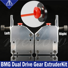 Mellow High Quality Dual Gear All Metal Bmg Extruder Bowden Dual Drive Extruder For 3d Printer Mk8 Cr-10 Prusa I3 Mk3 Ender 3