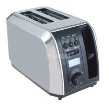 Нержавеющая сталь одна/двухсторонняя печь для выпечки хлеба машина 2 слота Электрический тостер автоматический завтрак тост сэндвич-мейкер