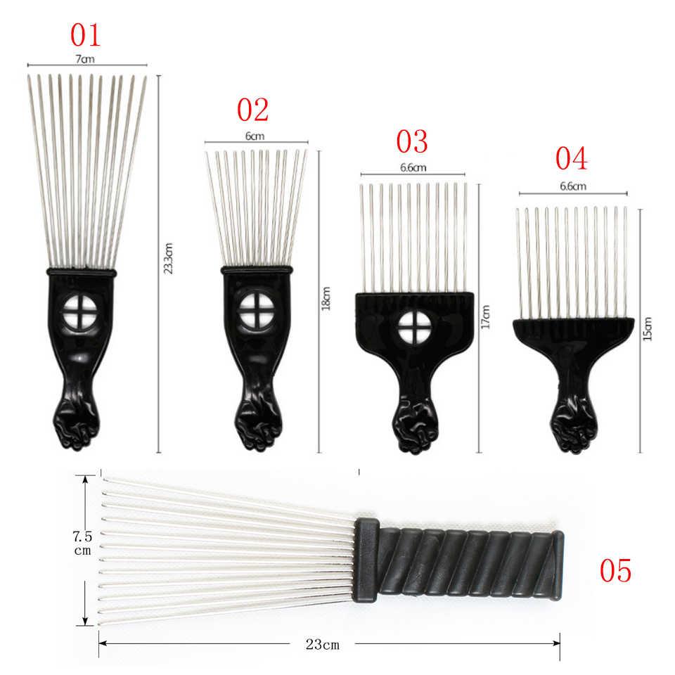 Xtrend 1 шт. Горячая Мода черный тонкий зуб гребень металлический штырь Антистатические волосы стиль для причесывания и укладки волос инструменты красоты