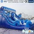 Golfinho Gigante Escorregador Inflável Para Jogos de Esportes