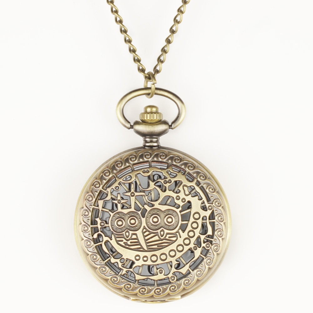 FOB Pocket Watches Owl FOB Watches Men Women Gift With Chain Free Shipping High Quality