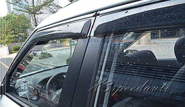 High Quality 4PCS Side Window Visor Protctor Vent For Hyundai IX25 2014 2015