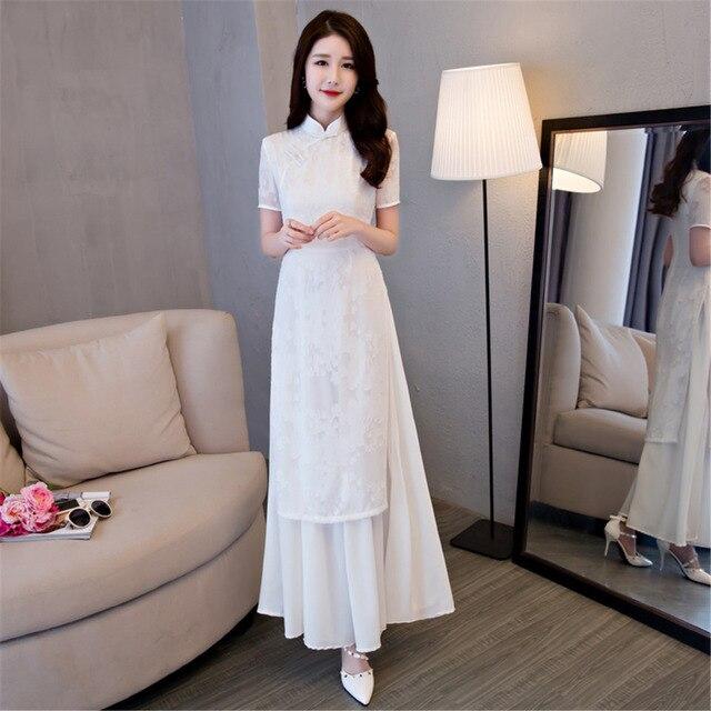 Fabuleux Shanghai Histoire Vietnam ao dai Vêtements traditionnels Chinois  BJ81
