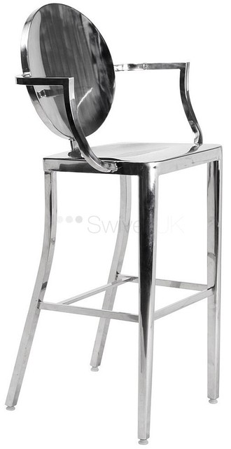 Ghost Bar Chair Wedding Covers Oswestry Stool In Beach Chairs From Furniture On Aliexpress Com