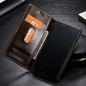 Image 2 - Flip deri iPhone için kılıf 5 5S SE 6 7 8 artı manyetik kart cüzdan kapak iPhone 11 Pro max X XR XS Max telefon kılıfı