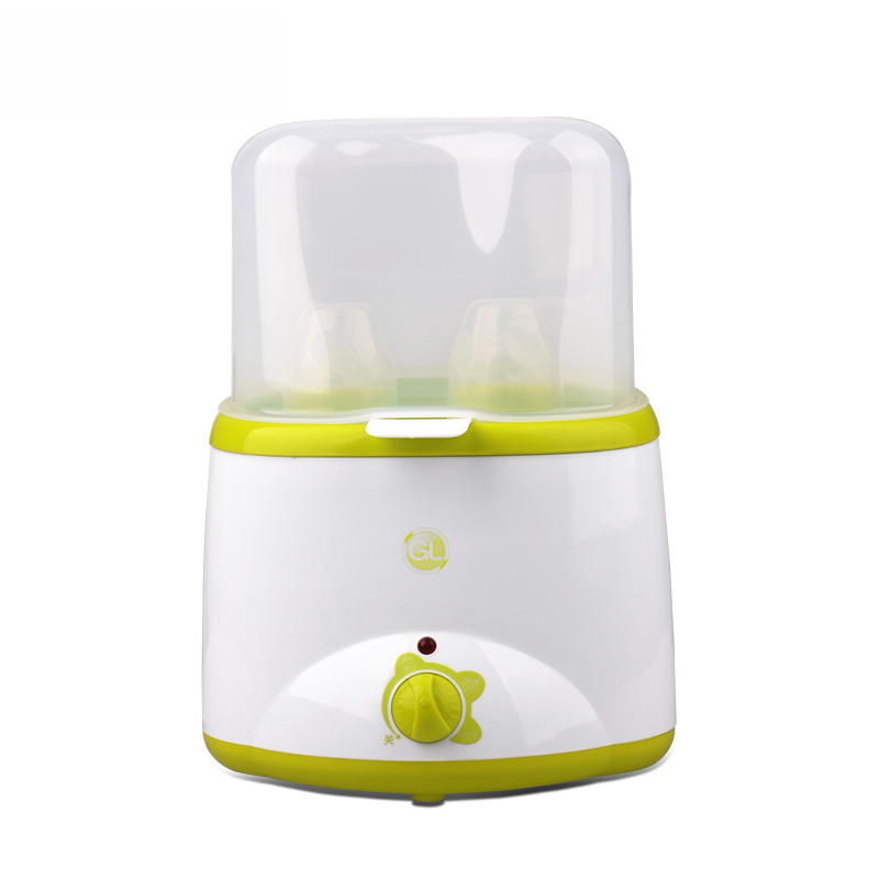 Bébé double bouteille warmer constant température contronl chauffage multi-fonction chaud, stérilisateur, oeuf vapeur, lait chaud