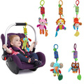 Baby Infant Pram Stroller Bed Pendant Hanging Bells Soft Toy Animal Windbell Chimes Ring Rattles Toys