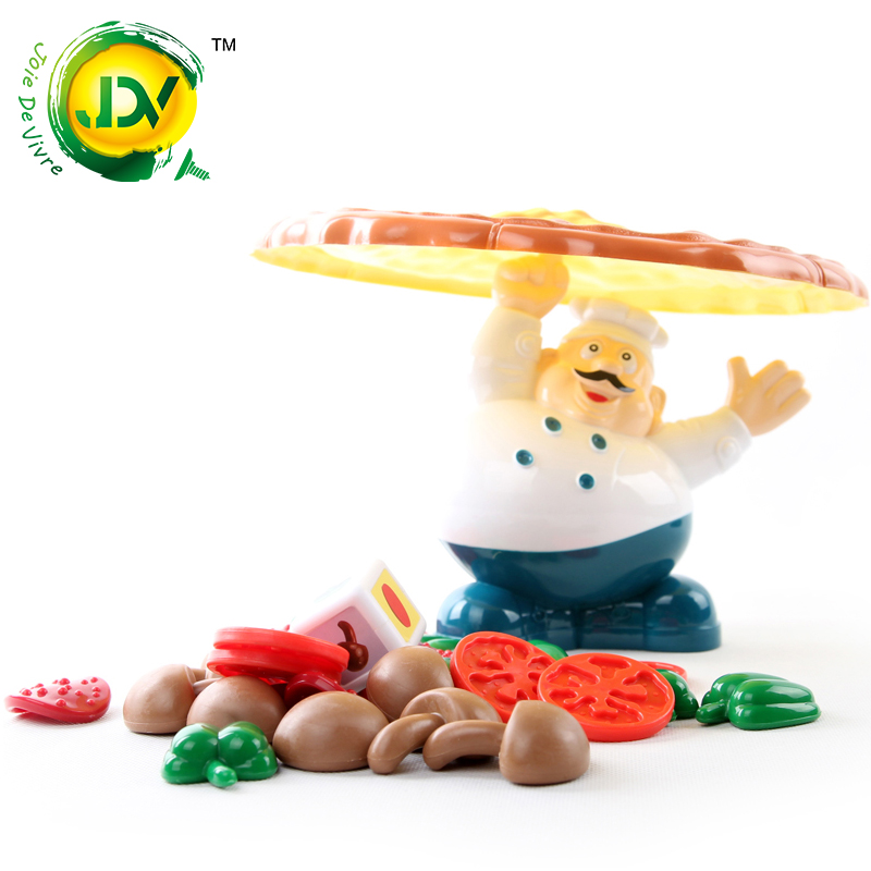 Pizza joy Stacked music Puzzle Game Toy action Fun Family lucky balance gift for Children 's Day Summer Food kitchen cook interactive ice breaking table penguin trap children funny game penguin trap activate entertainment toy family fun game with box
