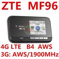 Разблокированный zte mf96 Wi-Fi маршрутизатор sim-карта 4 г T-Mobile Sonic 2,0 LTE Мобильная точка доступа 4 г маршрутизатор Wi-Fi mifi 4 г маршрутизатор для США/CA/PR...