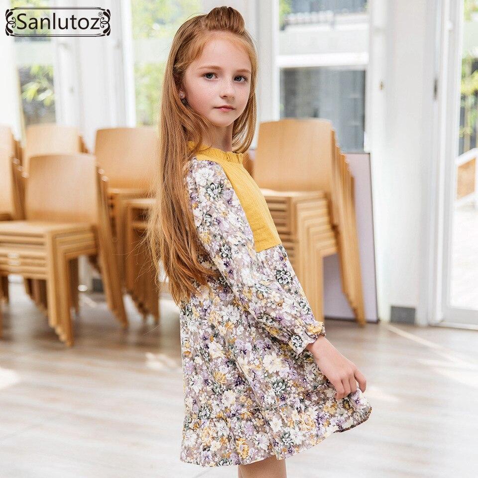 Jurk Voor Bruiloft Winter.Sanlutoz Flower Meisjes Winter Kinderkleding Kinderen Jurk Voor