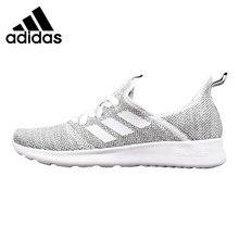purchase cheap 9e60b 31208 Adidas NEO Cloudfoam чистый Для мужчин и Для женщин кроссовки,  серый черный, амортизирующие