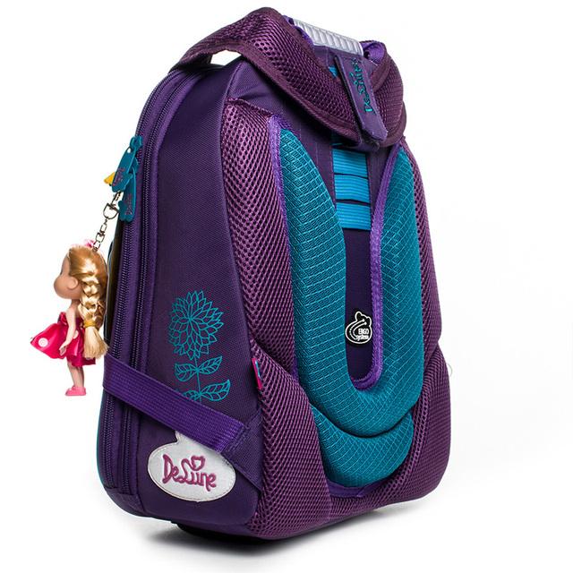 Lavendel Mønster skolesekker For Girls Boys barn Ortopediske ryggsekker Multi-layer Ryggsekk