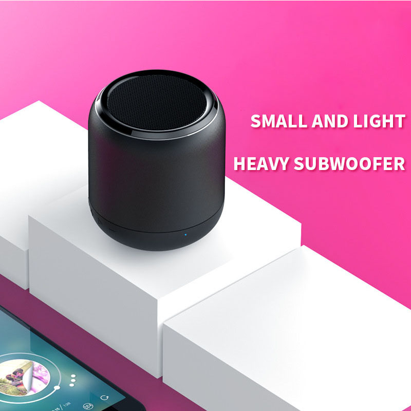Portable Mini Bluetooth Speaker Wireless Loudspeaker USB AUX TF Music Subwoofer Music Surround Outdoor Handsfree Speaker K13-in Portable Speakers from Consumer Electronics    3