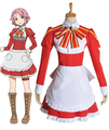 Free Shipping Sword Art Online Lisbeth Maid Anime Cosplay Costume