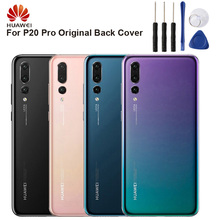 Huawei Original Back Battery Cover Housing For P20 Pro Rear Glass Case