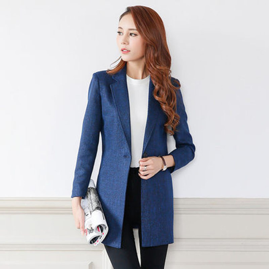 Online Get Cheap Women Long Blazer -Aliexpress.com | Alibaba Group